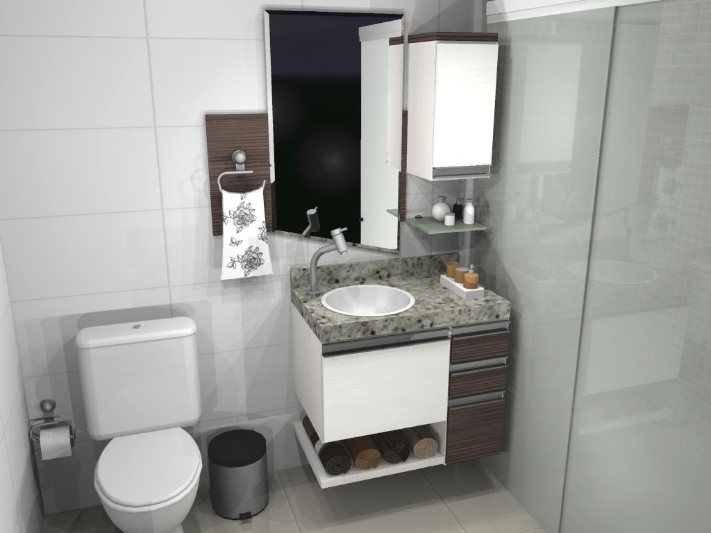 Gabinete Para Banheiro Banheiros Planejados Em Mdf