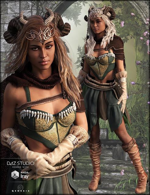 Green Queen Textures