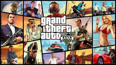 تحميل لعبة GTA V كاملة برابط واحد و بحجم صغير كاملة ومظغوطة النسخة الاصلية والمحمولة