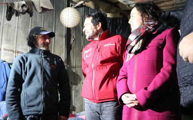 Un protagonista de la calle junto a Soraya Said y a Sebastián Villarroel