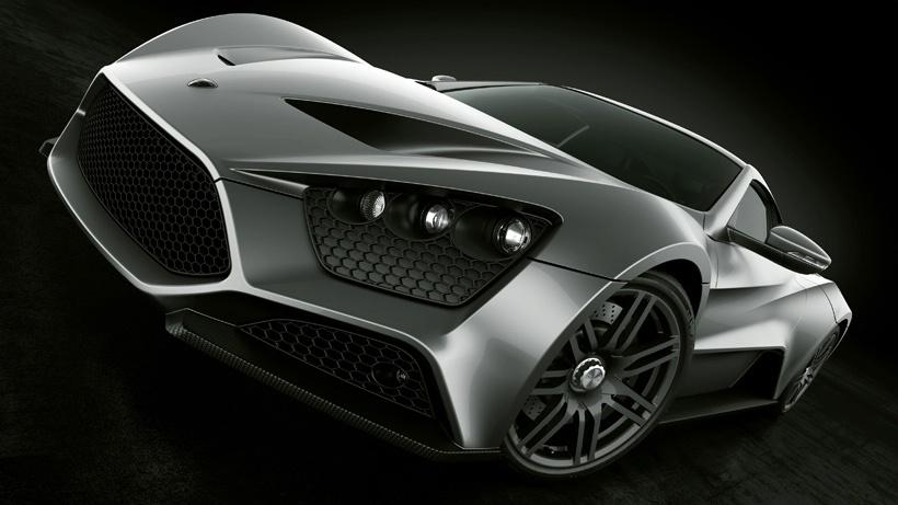 Hi Tech Show Super Car Zenvo St1 Price 1 7 Million