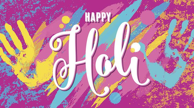 happy holi images animated