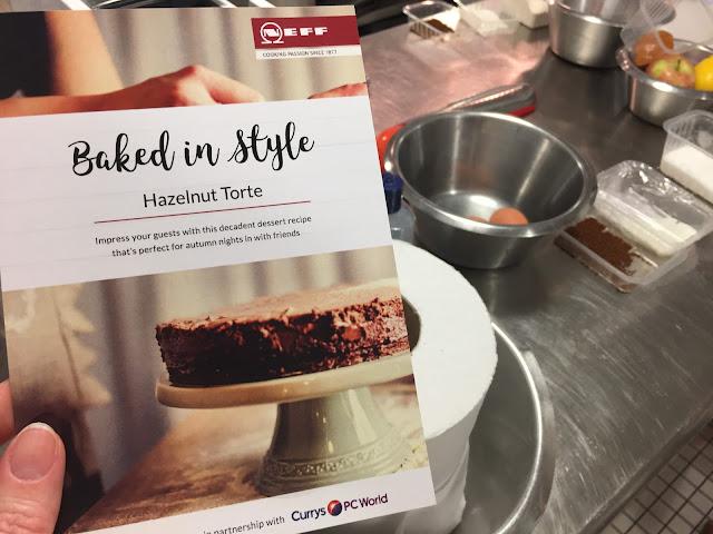 Baked In Style Hazelnut Torte