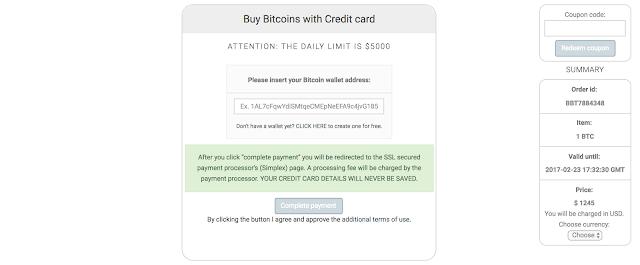 Kredi kartı ile ethereum al