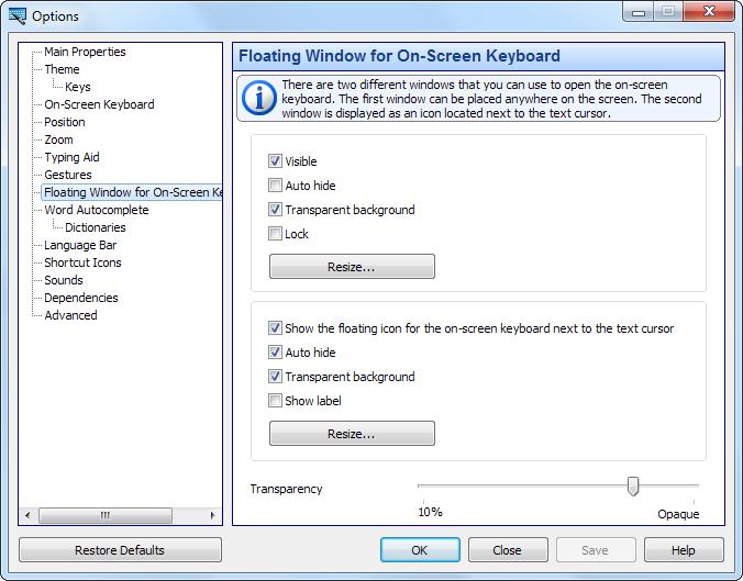 Hot Virtual Keyboard software