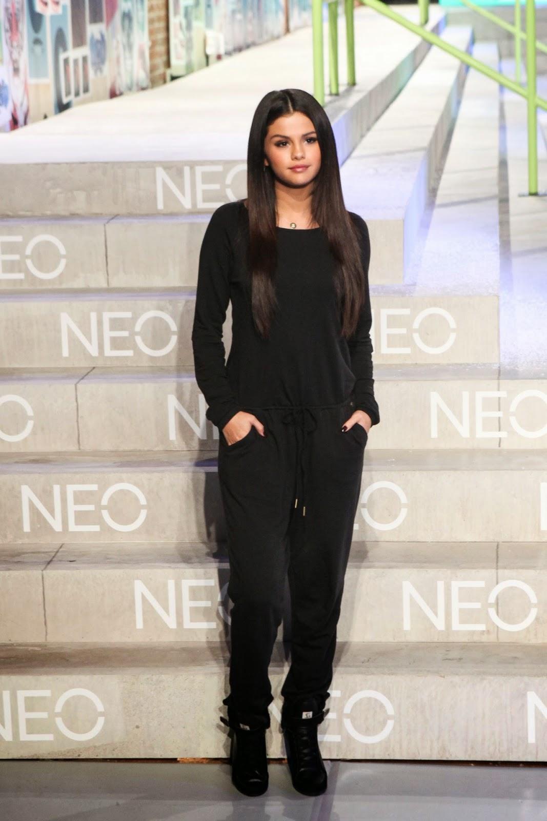 Selena Gomez flaunts sleek hair at the Adidas NEO Fashion