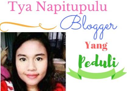 Tya Napitupulu Blogger Yang Peduli