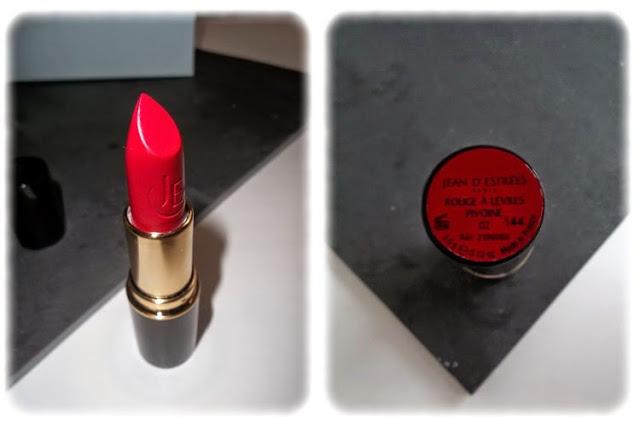 Rouge à Lèvres Velours Pivoine - Jean d'Estrées Birchbox Mai 2014