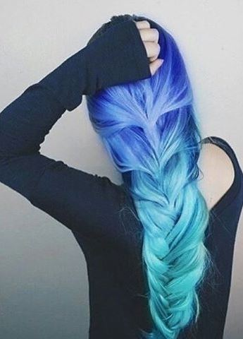 Multi Colored Hair