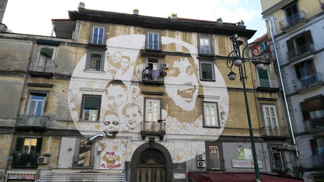 Murales La luce-Rione Sanità-Napoli