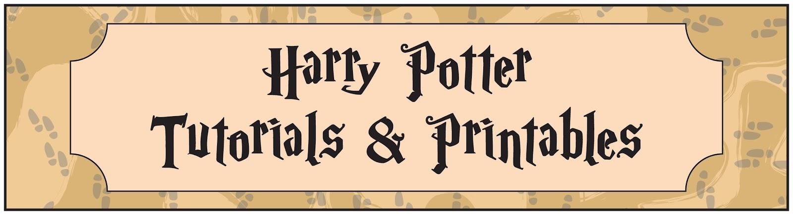 Poppy Makes Harry Potter Party