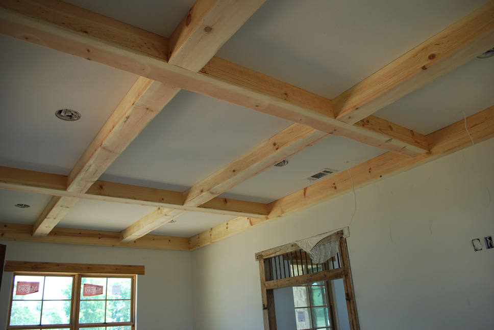 Lake And Garden: Wood Craft: Ceiling Beams & Cabinets