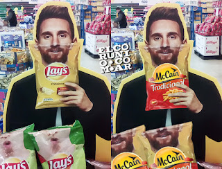 messi campaña lay's, world cup russia 2018, papas fritas lay's