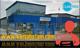 Lowongan Kerja Batam Cladtek BI Metal Manufacturing