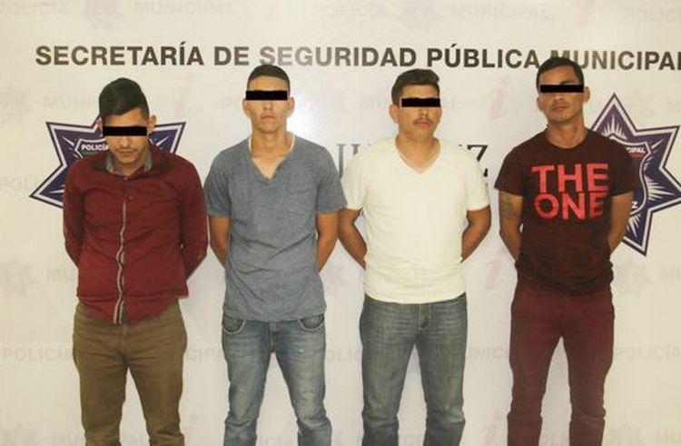 """Detienen cuatro sicarios de los """"Mexicles"""" antes de ejecutar a rivales en Chihuahua."""