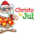 "The Book Bag: Giveaway Teaser! ""Christmas in July"" is Coming to The Book Bag"