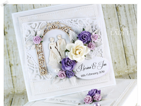 Wedding Card in Box / Kartka Ślubna w Pudełku