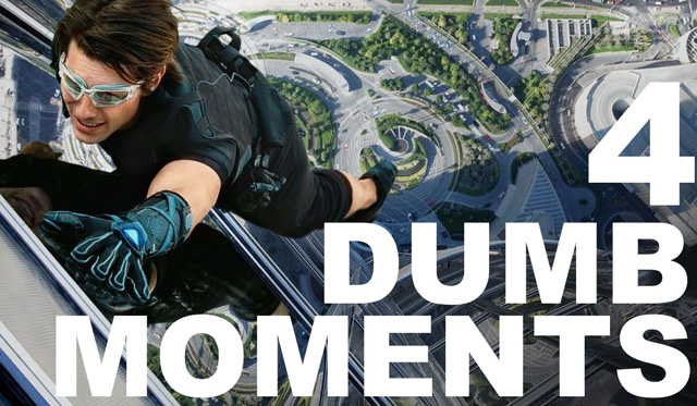 MISSION: IMPOSSIBLE - 4 Dumb Moments - Warped Factor - Words