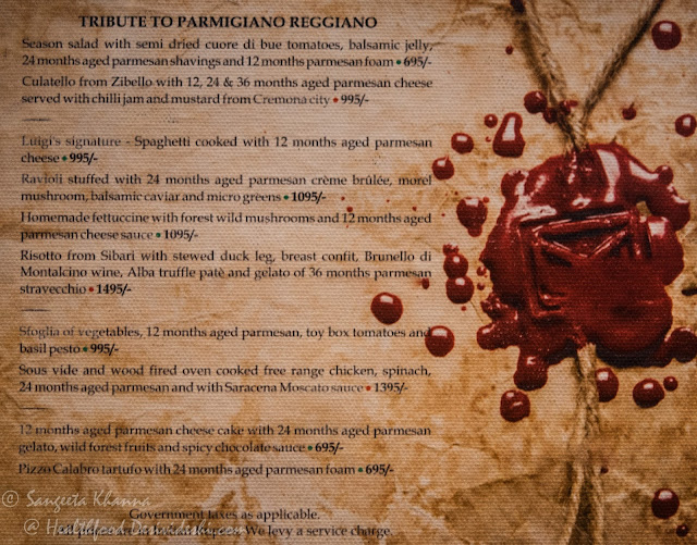 a tribute to Parmigiano-Reggiano at Sorrento, Shangri-La's Eros Hotel
