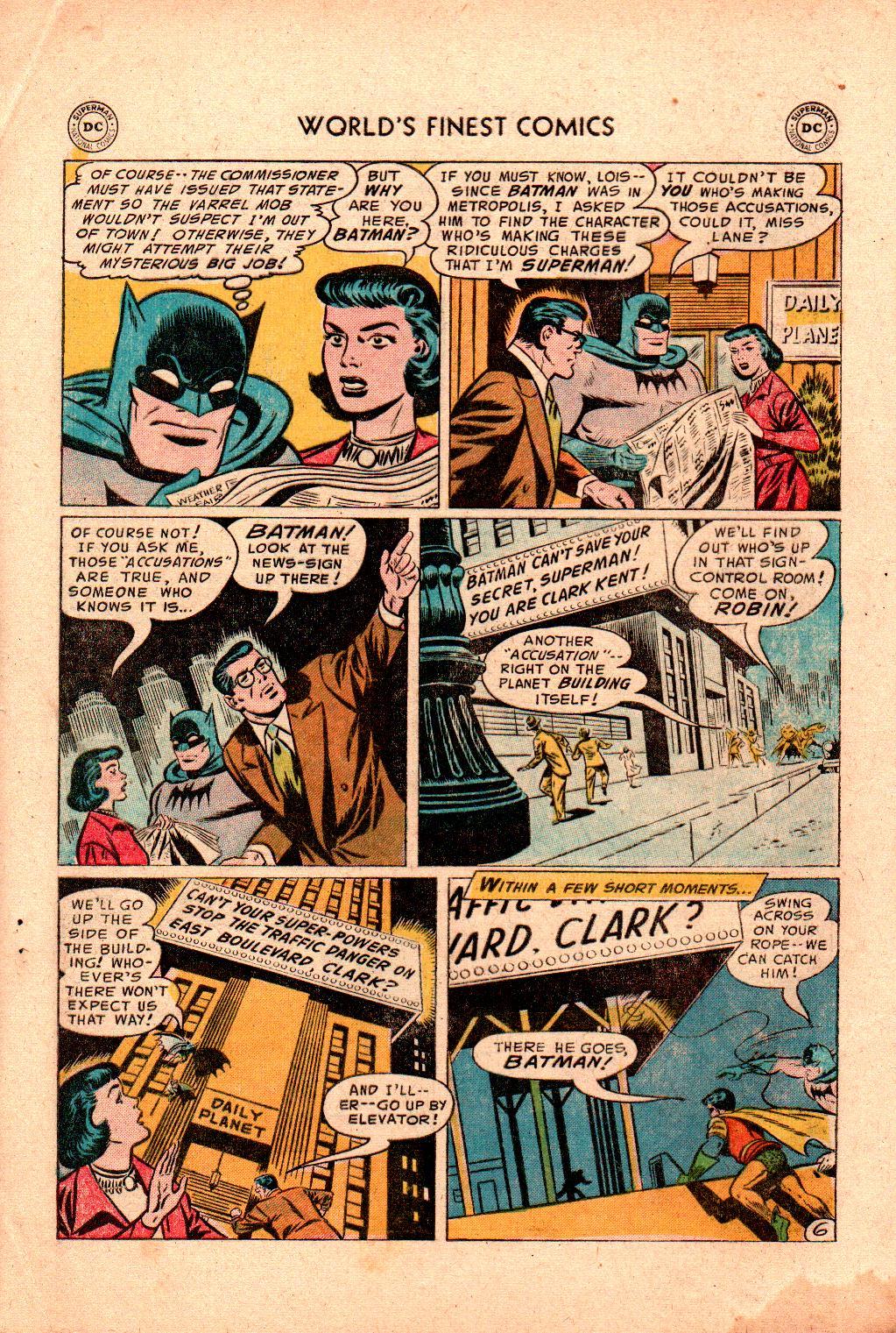 Read online World's Finest Comics comic -  Issue #78 - 8