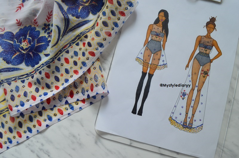 dc47274cd How to draw a summer dress