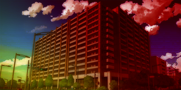 narrator's apartment