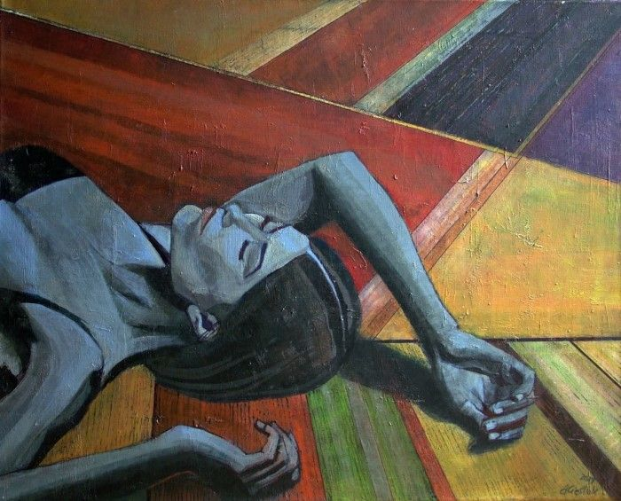 Польский художник. Anialuk