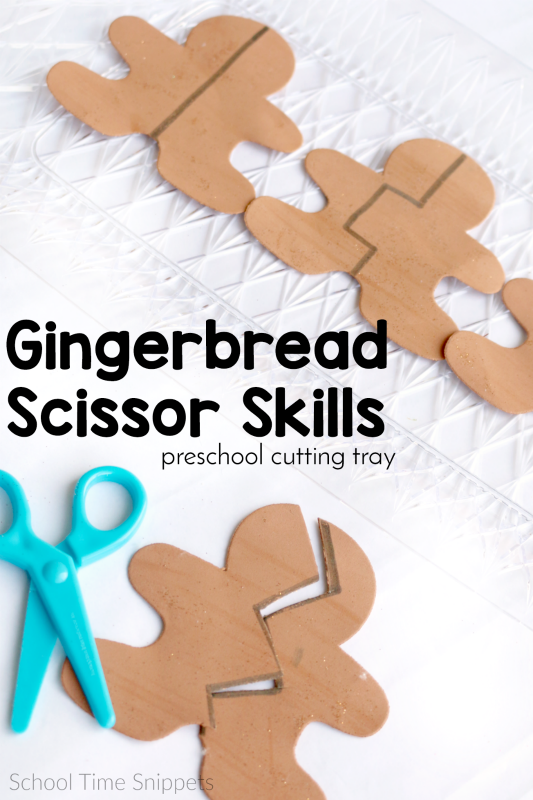 Preschool Cutting Practice