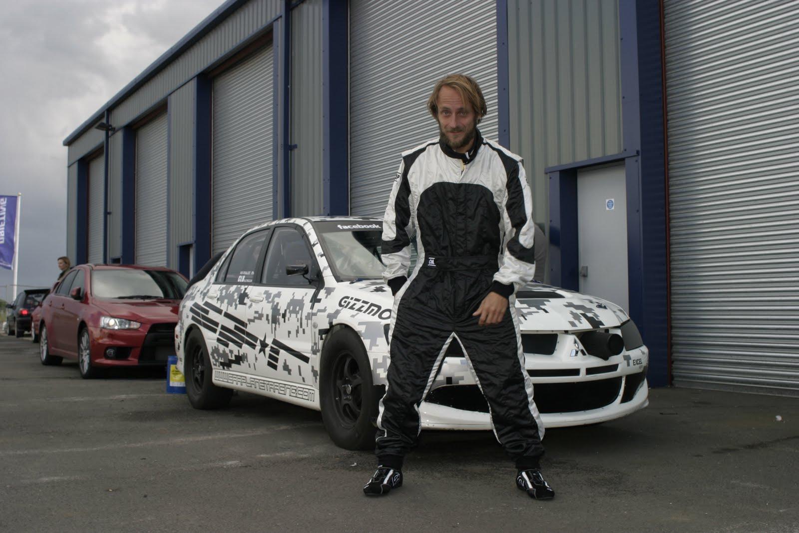 Tim Schrick goes drag racing in 1000bhp Evo
