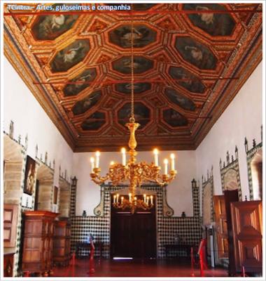 Sala dos Cisnes; Palácio Nacional de Sintra; Portugal; sem guia; Europa;