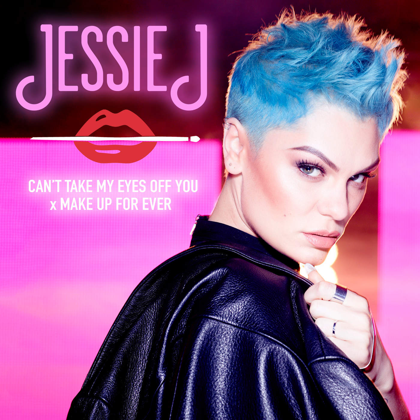 Jessie J - Can't Take My Eyes Off You x MAKE UP FOR EVER - Single Cover