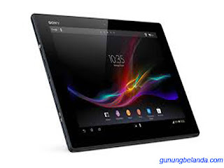 Cara Flashing Sony Xperia Tablet Z LTE SGP351