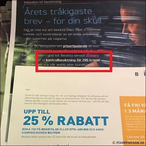 Pris i Stockholm för Kontrollbesiktning