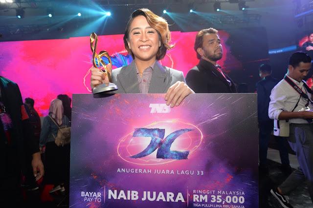 Tahniah Untuk Juara Anugerah Juara Lagu Ke 33