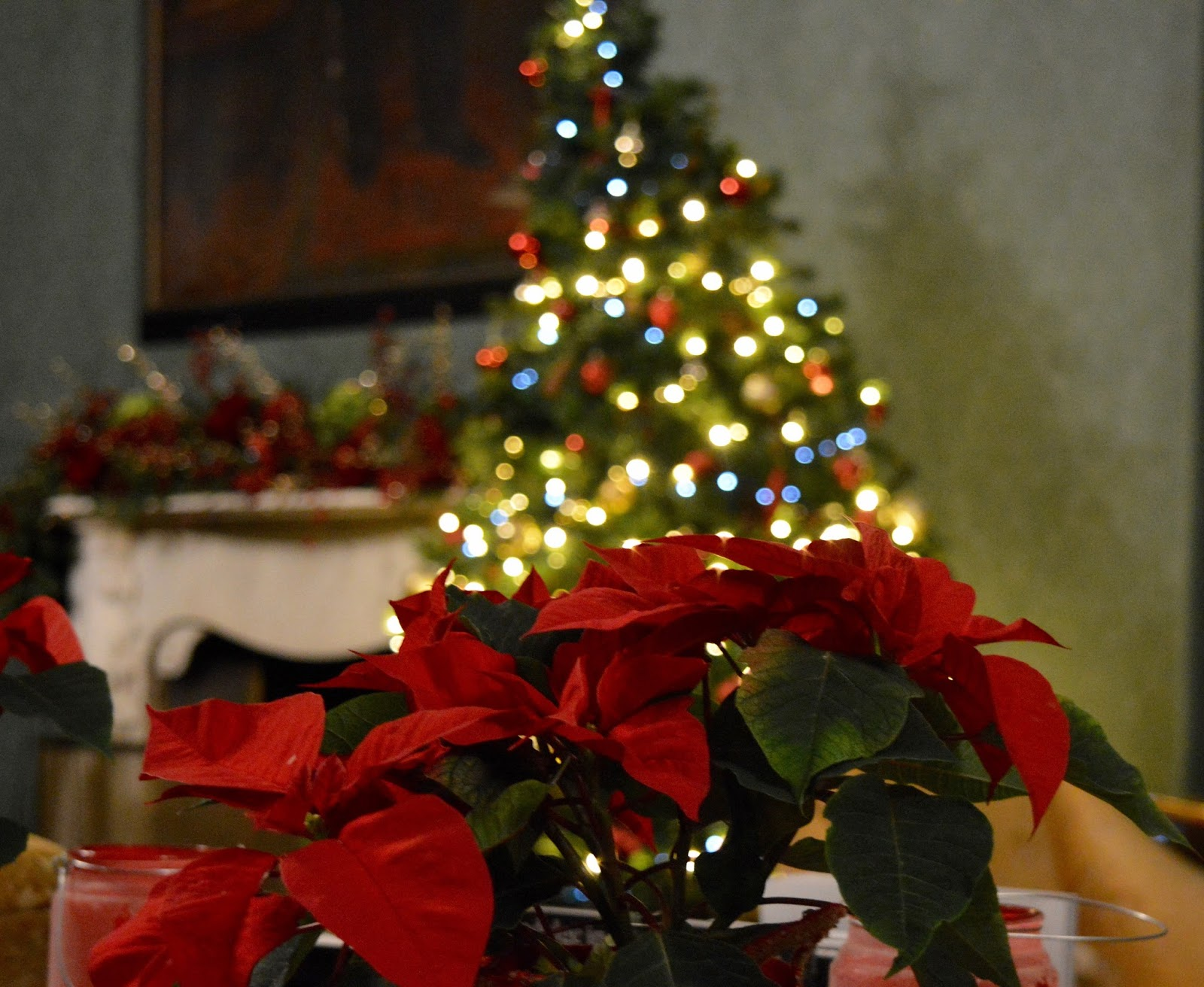 Afternoon tea at Wynyard Hall (with kids) - A Review - Christmas decorations