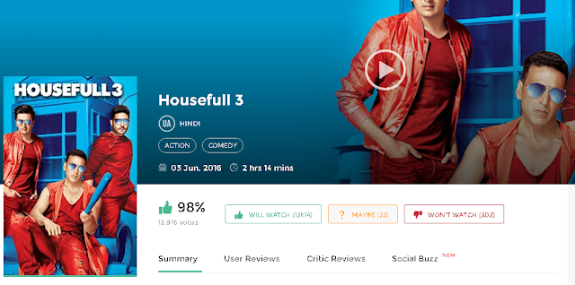 Housefull 3 (2016) Full Hindi Movie in HD 720p avi mp4 3gp hq free