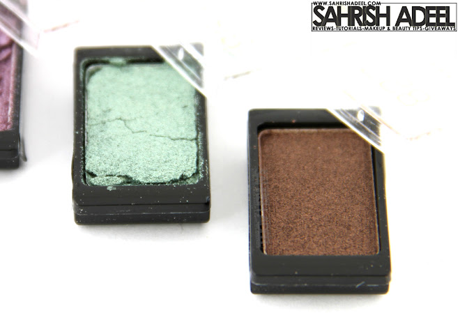 Artdeco Pure Mineral Eye Shadows in '818, 893, 863 & 827' - Review & Swatches
