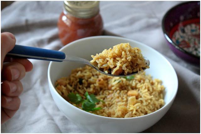 riso pilaf uvetta