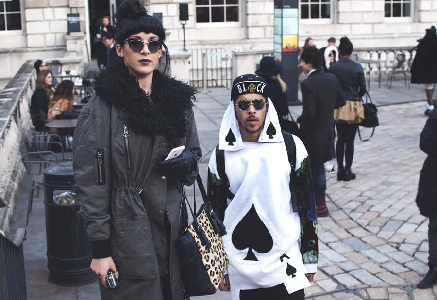 London Fashion Week Street Style Part 2.