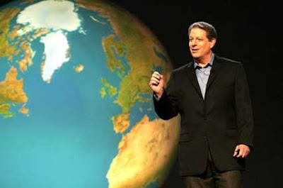 Al Gore em Uma verdade inconveniente