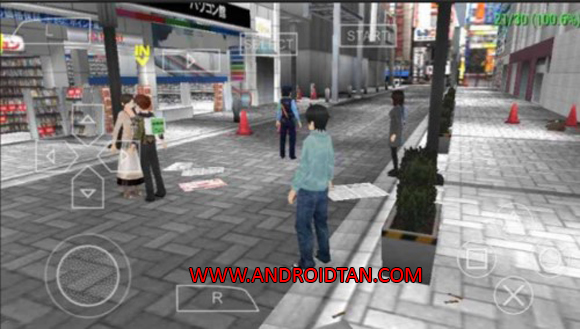 Akiba's Trip Plus ISO PPSSPP High Compress