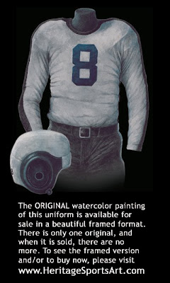 Philadelphia Eagles 1941 uniform