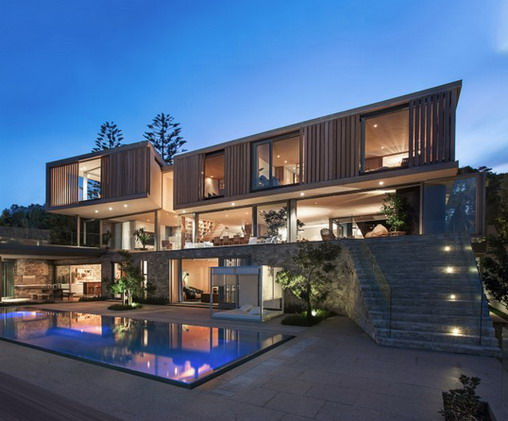 Rumah Minimalis Modern Model Desain Villa Mewah Yang Unik