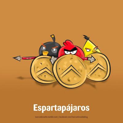 Meme de humor sobre Esparta