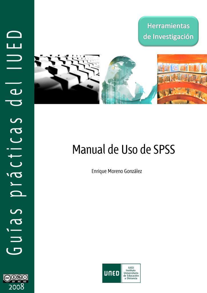 Manual de uso de SPSS – Enrique Moreno Gonzales