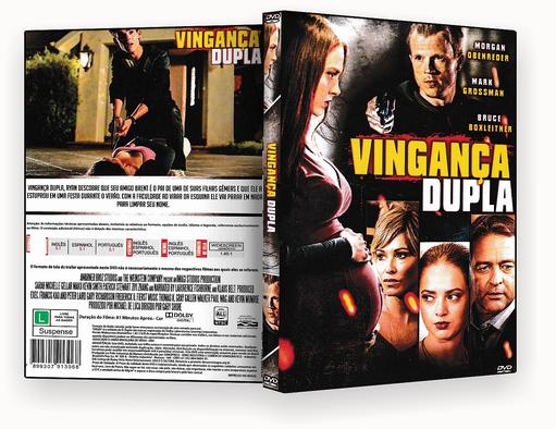 CAPA DVD – VINGANCA DUPLA – DVD-R
