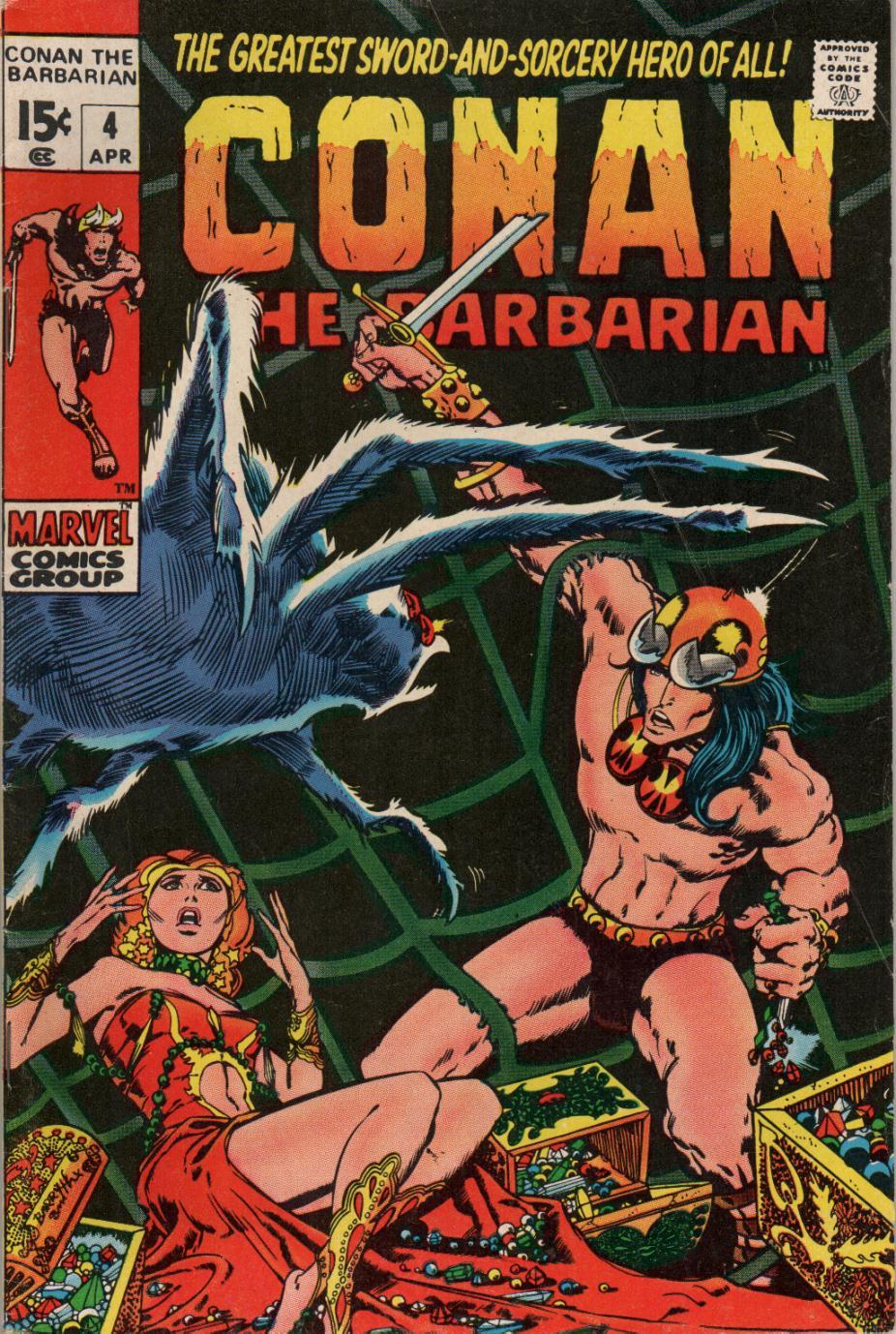 Conan the Barbarian (1970) Issue #4 #16 - English 1