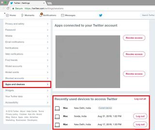 Cara Mudah Memeriksa Akun Twitter yang sudah di Hack