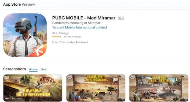 İOS için PUBG Mobile 0.18.0 Güncellemesi: İndirme Linki