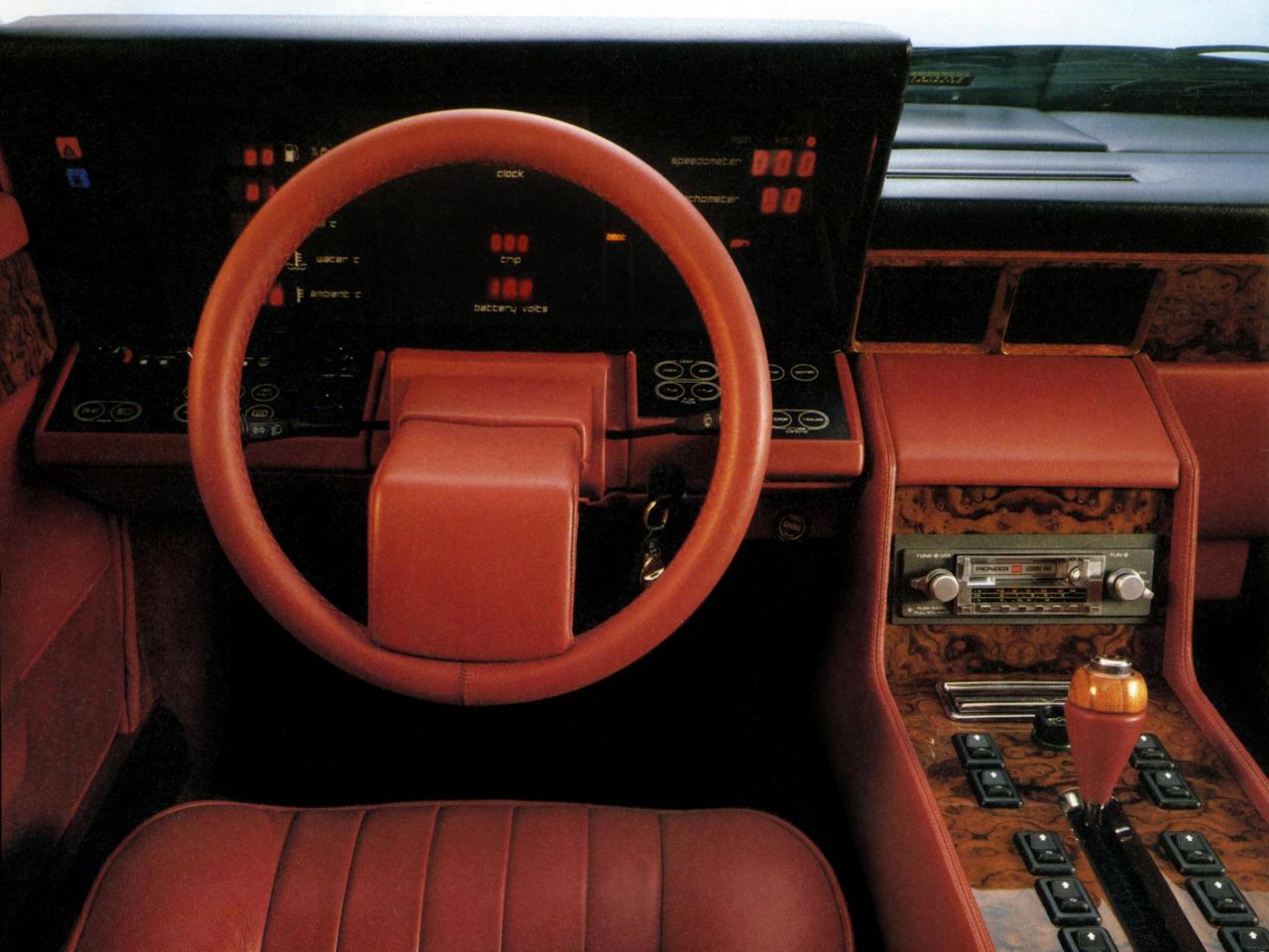 Car Interior Decoration Interior Car Tickford Aston Martin Lagonda 1983